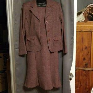 Sag Harbor dress and jacket set size 8